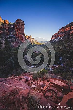 Free Fay Canyon Vista Stock Photos - 111457833