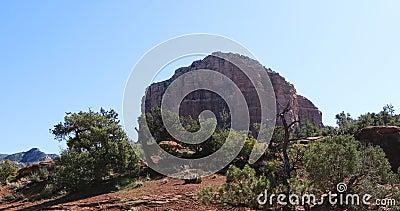 Fay Trail scene in Sedona, Arizona, United States 4K. A Fay Trail scene in Sedona, Arizona, United States 4K stock video