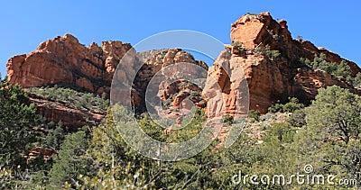 Fay Trail in Sedona, Arizona, United States 4K. The Fay Trail in Sedona, Arizona, United States 4K stock footage