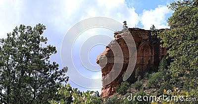 Fay Trail view in Sedona, Arizona, United States 4K. The Fay Trail view in Sedona, Arizona, United States 4K stock video