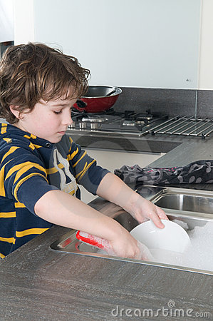 Fazendo os pratos