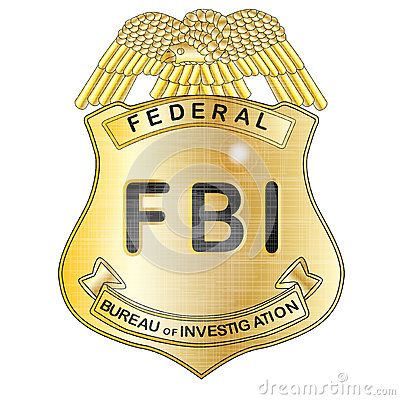 Fbi Badge Stock Illustration Image 52333320