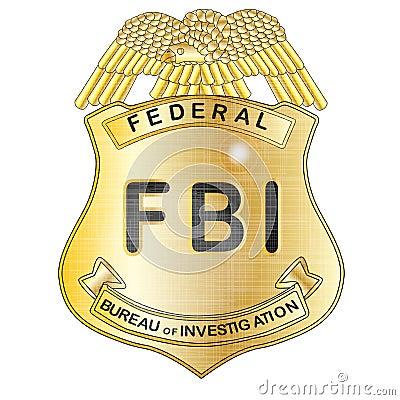 Fbi badge stock illustration image 52333320 - Fbi badge wallpaper ...
