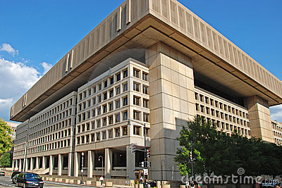 FBI building in Washington DC Editorial Photography