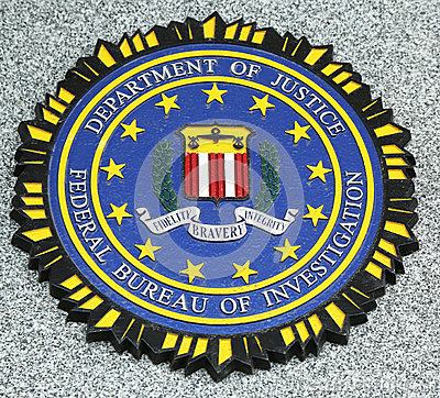 Free FBI Emblem On Fallen Officers Memorial In Brooklyn, NY Royalty Free Stock Photo - 30369555