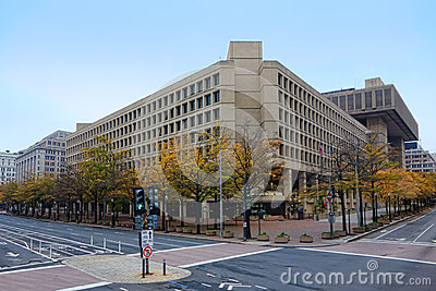 FBI J Edgar Hoover Building in Washington DC
