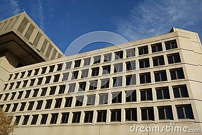 FBI J Edgar Hoover Building in Washington DC