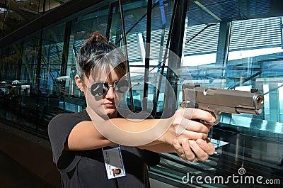 FBI woman agent