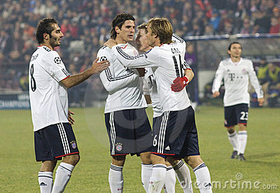 FC Bayern munchen winning Editorial Image
