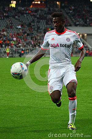 FC Bayerns David Alaba Editorial Image