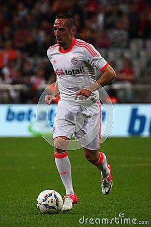 FC Bayerns Franck Ribery Editorial Photography