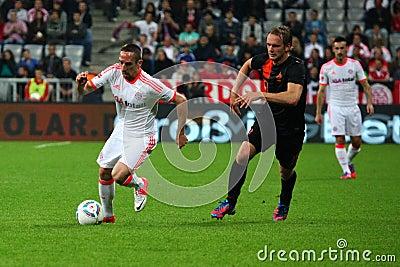 FC Bayerns Franck Ribery Editorial Image