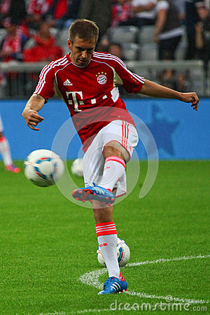 FC Bayerns Philipp Lahm Editorial Photography