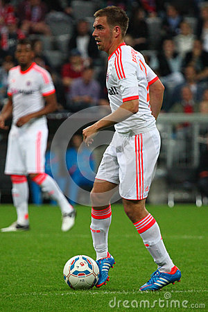 FC Bayerns Philipp Lahm Editorial Stock Photo