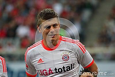 FC Bayerns Toni Kroos Editorial Photo