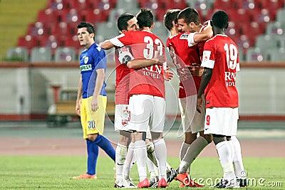FC Dinamo Bucharest-FC Petrolul Ploiesti Editorial Photography
