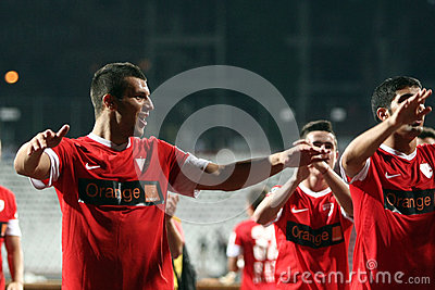 FC Dinamo Bucharest-FC Petrolul Ploiesti Editorial Stock Photo