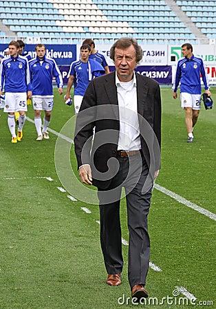 FC Dynamo Kyiv s manager Yuri Semin Editorial Image