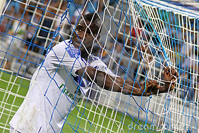 FC Dynamo Kyiv s striker Brown Ideye Editorial Image