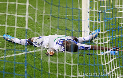 FC Dynamo Kyiv s striker Brown Ideye Editorial Photo
