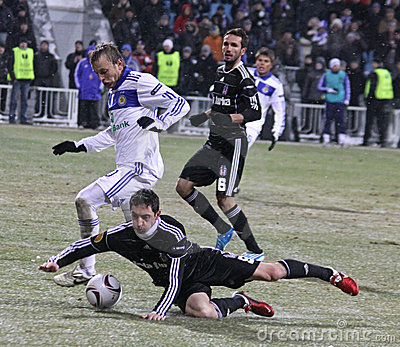 FC Dynamo Kyiv vs Besiktas Editorial Photo