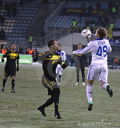 FC Dynamo Kyiv vs FC Sheriff Tiraspol Editorial Stock Photo