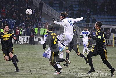 FC Dynamo Kyiv vs Sheriff Tiraspol Editorial Photo