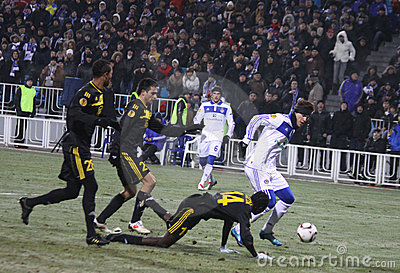 FC Dynamo Kyiv vs Sheriff Tiraspol Editorial Photography