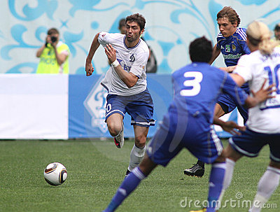 FC Dynamo Moscow vs. FC Dynamo Kyiv Editorial Photography
