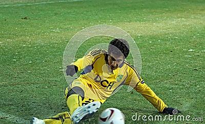 FC Metalist Kharkiv - Bayer 04 Leverkusen Redaktionelles Bild