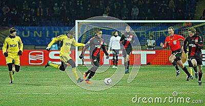 FC Metalist Kharkiv - Bayer 04 Leverkusen Editorial Photography