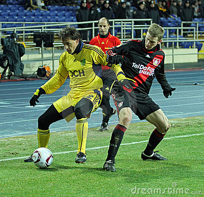 FC Metalist Kharkiv - Bayer 04 Leverkusen Editorial Photo