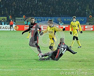 FC Metalist Kharkiv - Bayer 04 Leverkusen Editorial Image