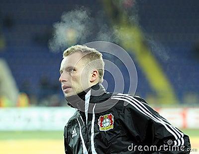 FC Metalist Kharkiv - Bayer 04 Leverkusen Editorial Stock Photo