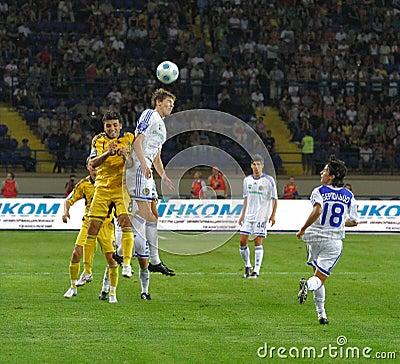 FC Metalist Kharkiv vs. FC Dynamo Kyiv Editorial Photo