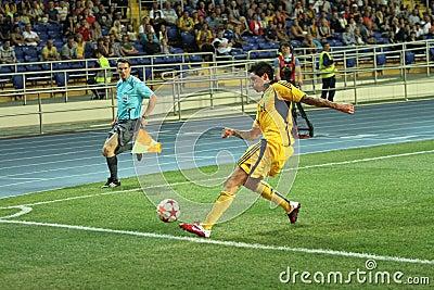 FC Metalist vs PFC Oleksandria football match Editorial Stock Photo