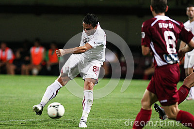 FC Rapid Bucharest-CFR Cluj Editorial Photo