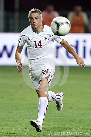 FC Rapid Bucharest-CFR Cluj Editorial Stock Photo