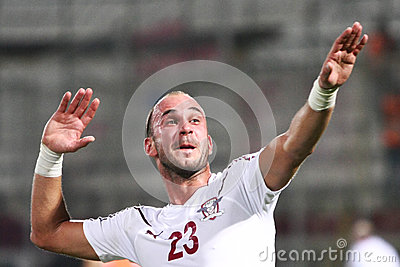FC Rapid Bucharest-CFR Cluj Editorial Image