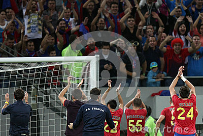 FC Steaua Bucharest - CFR Cluj Editorial Photography