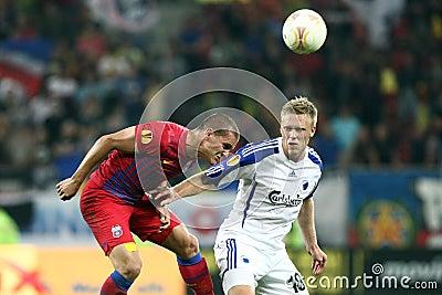 FC Steaua Bucharest - FC Copenhaga Editorial Image