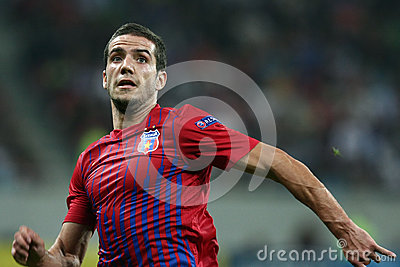 FC Steaua Bucharest - FC Copenhaga Editorial Photography