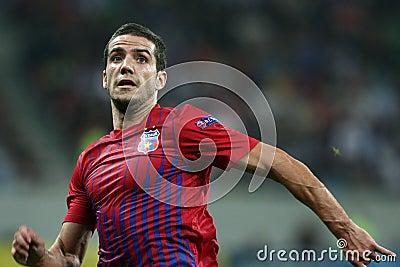 FC Steaua Bucharest - FC Copenhaga Editorial Photography