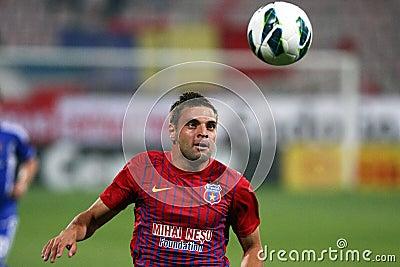 FC Steaua Bucharest - FC Ekranas Editorial Image
