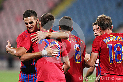 FC Steaua Bucharest - FC Ekranas Editorial Photography