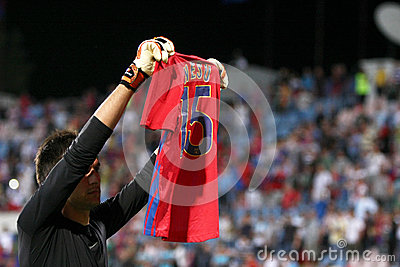 FC Steaua Bucharest - FC Ekranas Editorial Stock Image
