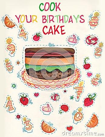 Födelsedagkortspel s