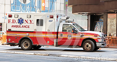 FDNY Ambulance Editorial Photo
