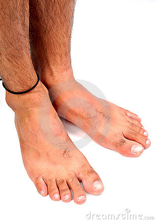 Füße der Männer