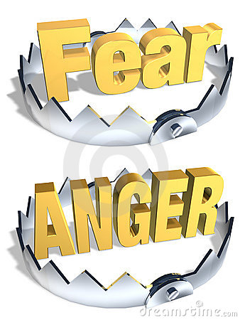 Free Fear/Anger Trap Stock Photo - 5441180